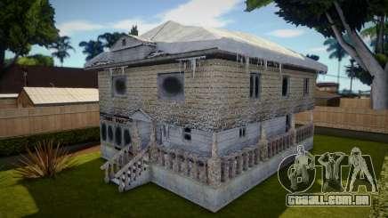 Winter Big House para GTA San Andreas