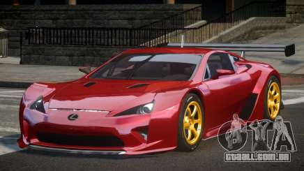 Lexus LFA PSI-R para GTA 4
