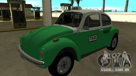 Volkswagen Beetle 1994 Taxi do México para GTA San Andreas
