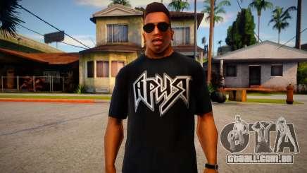 Ariya T-Shirt para GTA San Andreas