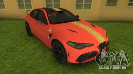 Alfa Romeo Giulia GTAm para GTA Vice City