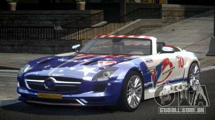 Mercedes-Benz SLS PSI-R L1 para GTA 4