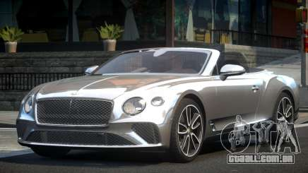 2019 Bentley Continental GT Convertible para GTA 4