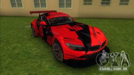 BMW Z4 GT3 Dunlop para GTA Vice City