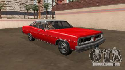 Regina Dundreary Sedan my version para GTA San Andreas