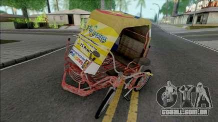 Philippines Pedicab para GTA San Andreas
