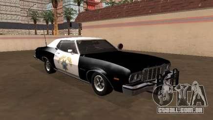 Ford Gran Torino 1979 California Highway Patrol para GTA San Andreas