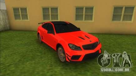 Mercedes-Benz C63 AMG para GTA Vice City