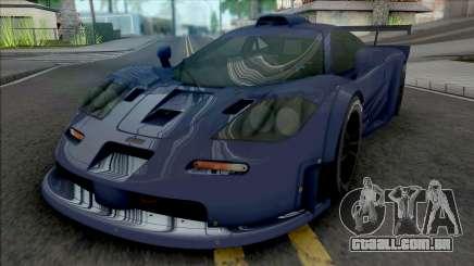 McLaren F1 GTR Longtail (SA Lights) para GTA San Andreas
