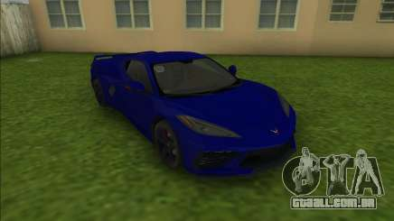Chevrolet Corvette C8 para GTA Vice City