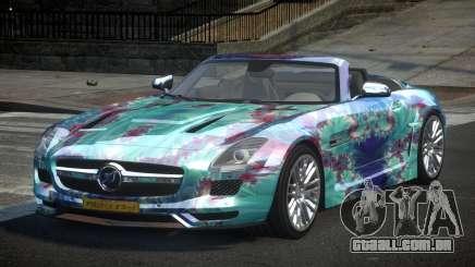Mercedes-Benz SLS PSI-R L4 para GTA 4
