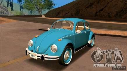 Volkswagen Beetle (Fusca) 1300 1974 - Brazil para GTA San Andreas