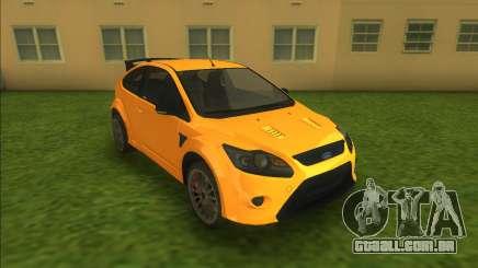 Ford Focus RS 2010 para GTA Vice City