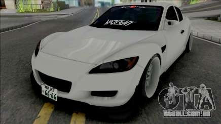 Mazda RX-8 Gang Lords para GTA San Andreas
