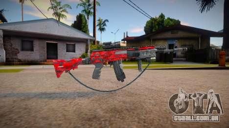 Ak12 estillo call of duty (Marck_delta_Mods) para GTA San Andreas