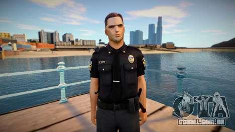 Improved cop lapd1 para GTA San Andreas