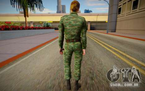 Serbian Female Soldier para GTA San Andreas