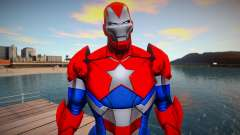 Marvel Future Fight - Iron Patriot (good skin) para GTA San Andreas