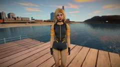 Black Canary para GTA San Andreas