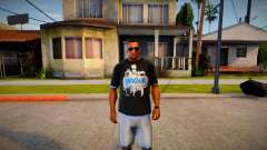 T-shirt Parkour para GTA San Andreas