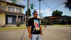 Dinosaur T-shirt para GTA San Andreas