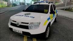 Dacia Duster Parks Police United Kingdom para GTA San Andreas