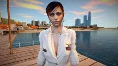 Claire Redfield Navy para GTA San Andreas