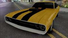 Dodge Challenger RT 1970 [IVF VehFuncs ADB] para GTA San Andreas