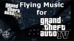 GTA V Flying Music for GTA IV para GTA 4