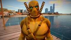 Deadpool Gold para GTA San Andreas