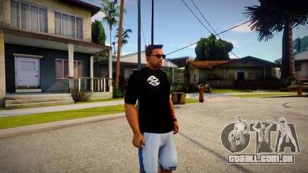 T-shirt World Wide para GTA San Andreas