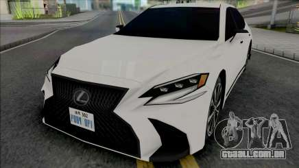 Lexus LS 500 F Sport 2019 (SA Style) para GTA San Andreas