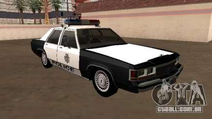 LTD Crown Victoria 1991 Las Vegas Metro Police para GTA San Andreas