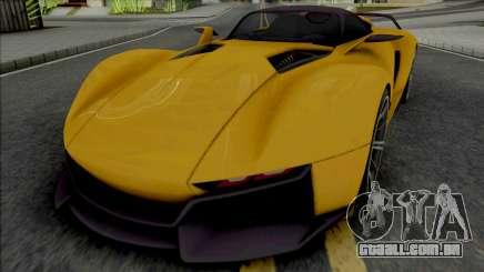 Rezvani Beast X 2016 para GTA San Andreas