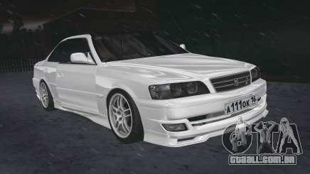Toyota Chaser 100 RUS Plates para GTA San Andreas