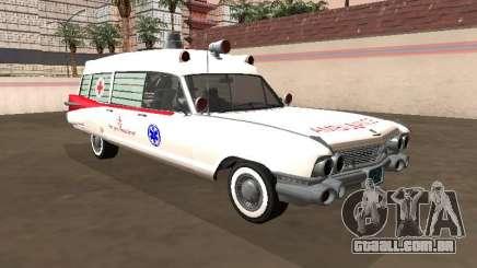 Cadillac Miller-Meteor 1959 Old Ambulance para GTA San Andreas