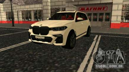 BMW X7 Xdrive D50 para GTA San Andreas