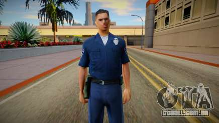 New lapd1 (good textures) para GTA San Andreas
