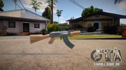 New AK-47 (good textures) para GTA San Andreas