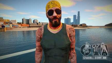 Vagos com barba para GTA San Andreas