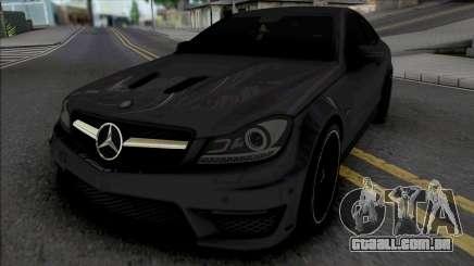 Mercedes-Benz C63 AMG Edition 2014 (IVF Lights) para GTA San Andreas