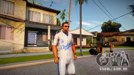 T-shirt Crips para GTA San Andreas