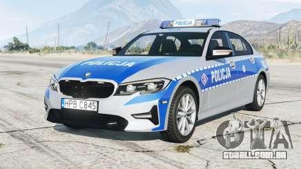 BMW 320i (G20) 2019〡Polh Police [ELS] add-on para GTA 5