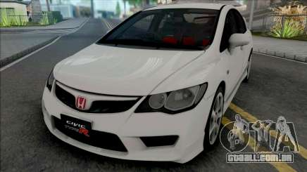 Honda Civic Type R (FD2) 2008 Stock para GTA San Andreas