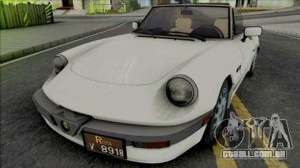 Alfa Romeo Spider Quadrifoglio para GTA San Andreas