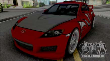 Mazda RX-8 Mia Townsend para GTA San Andreas
