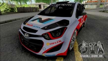 Hyundai i20 WRC para GTA San Andreas