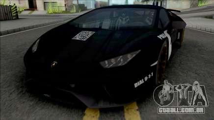 Lamborghini Huracan Performante Police para GTA San Andreas