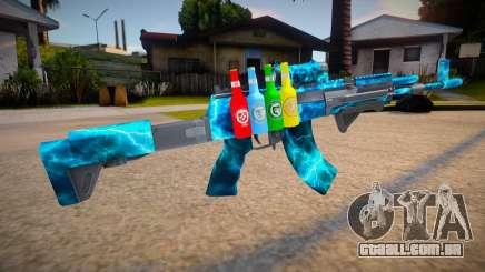 Ak-12 mod para GTA San Andreas