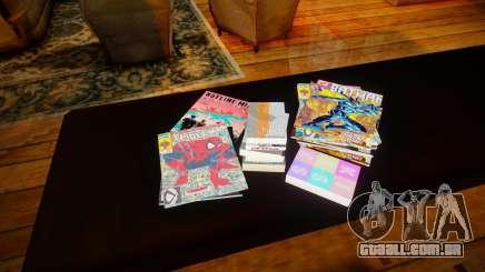 Novos quadrinhos para GTA San Andreas